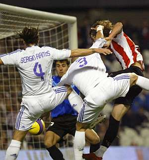 Athletic Madrid in Action