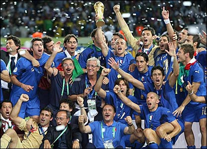 Italy 2006 World Cup Winners!